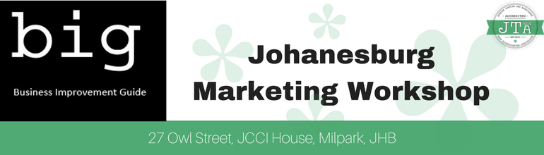 Johannesburg Marketing Workshop